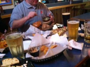 A table of appetizers. It's like heaven