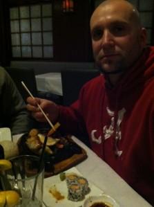 Chopstick master Shane