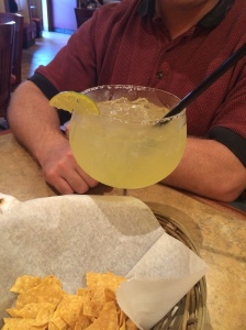 Tequila flavored margarita