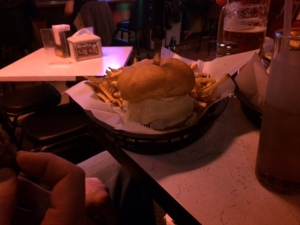 Burger, from afar