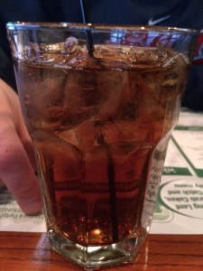 Now that's a much better rum-to-coke ratio