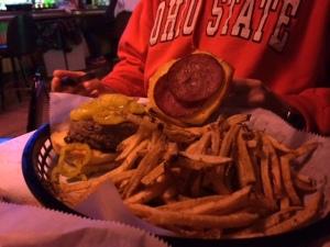 Cheese-less burger