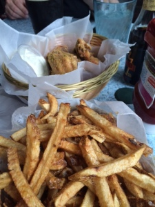 Shane's shared fries and wings. Who is this guy?