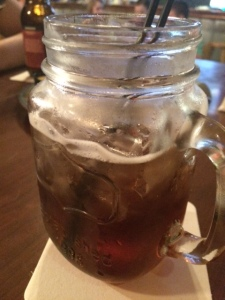 When it comes in a mason jar, you know it means business