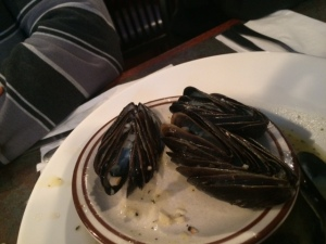 Mussels with a side of OCD please