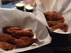 Oh hey, look - wings. That's something new for us.