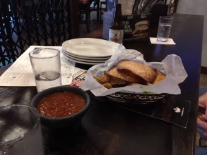 Toast and salsa?