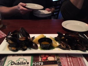 Meal of mussels