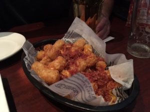Are you gonna eat those tots?