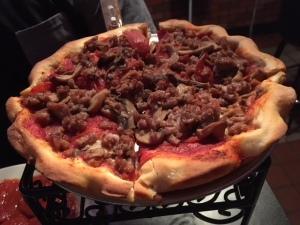 So that's what a cheese-less pizza looks like. It's so ... naked.